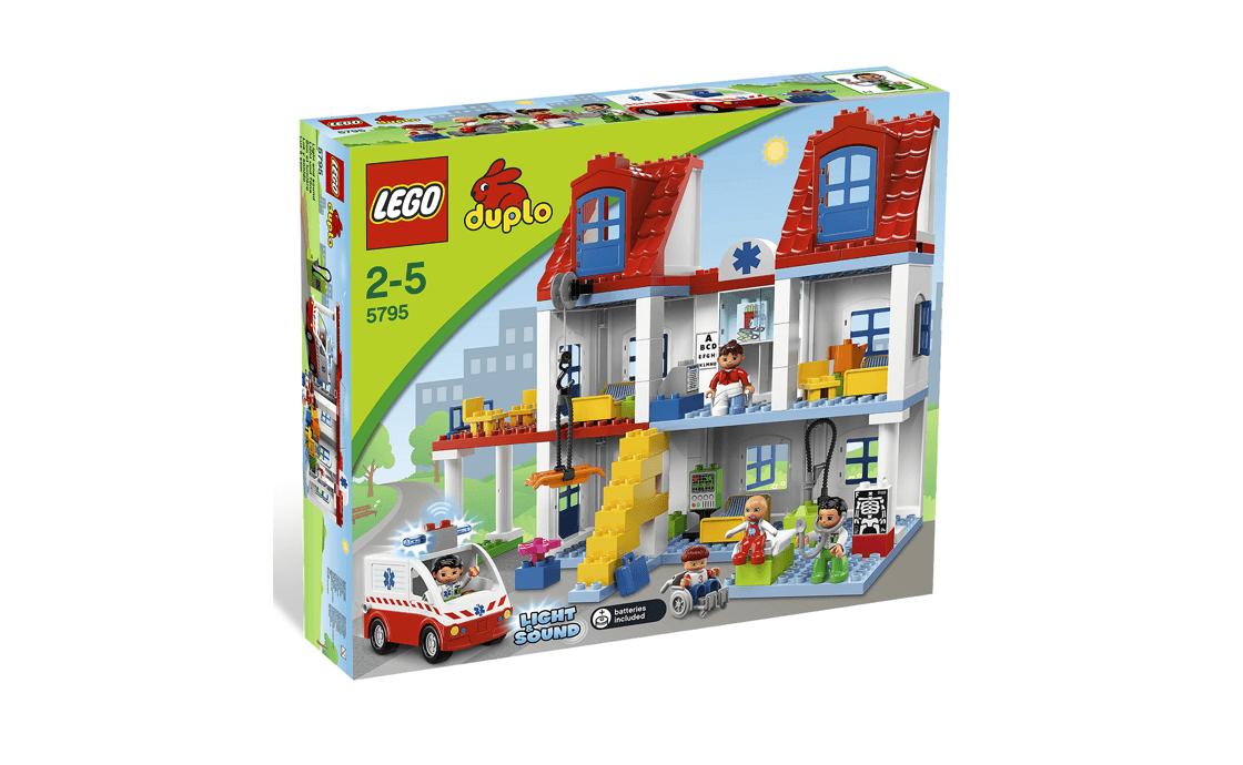 LEGO DUPLO Большая городская больница Duplo (5795)