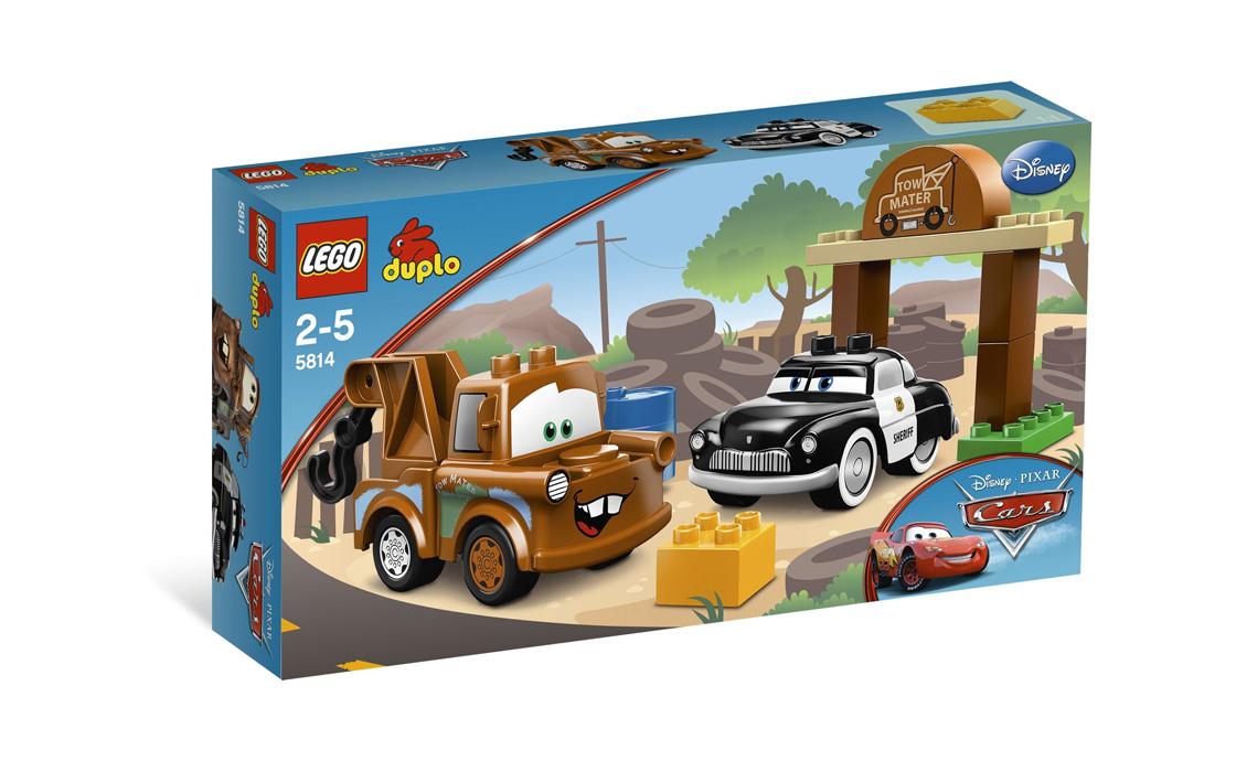 LEGO DUPLO Автосвалка Мэтра (5814)
