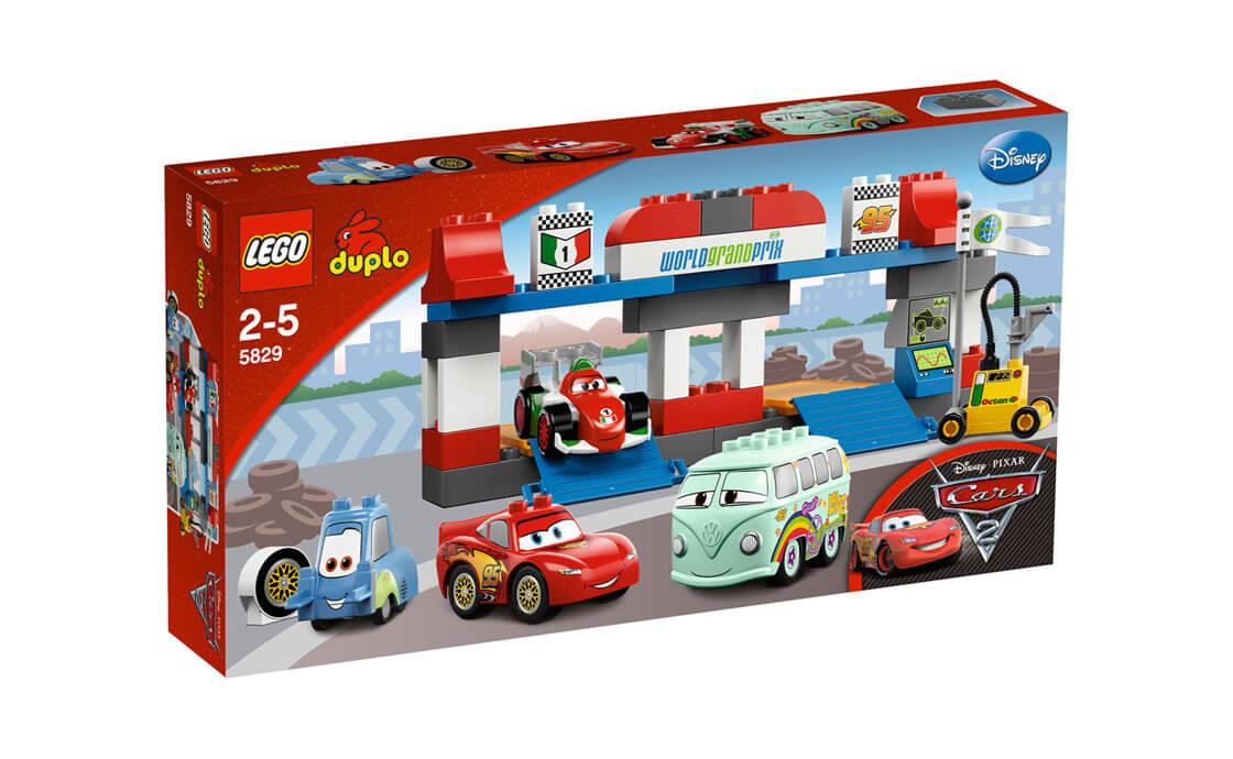 LEGO DUPLO Пит - стоп Cars 2 Duplo (5829)