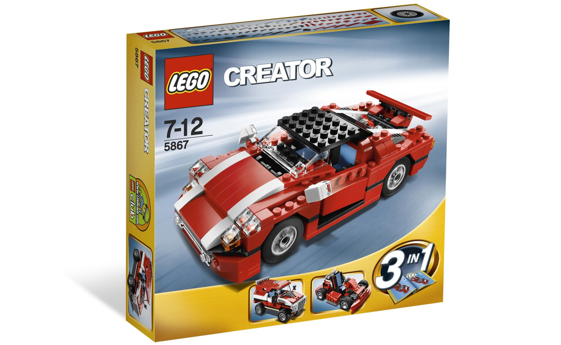 LEGO Creator Супер Спидстер (5867)