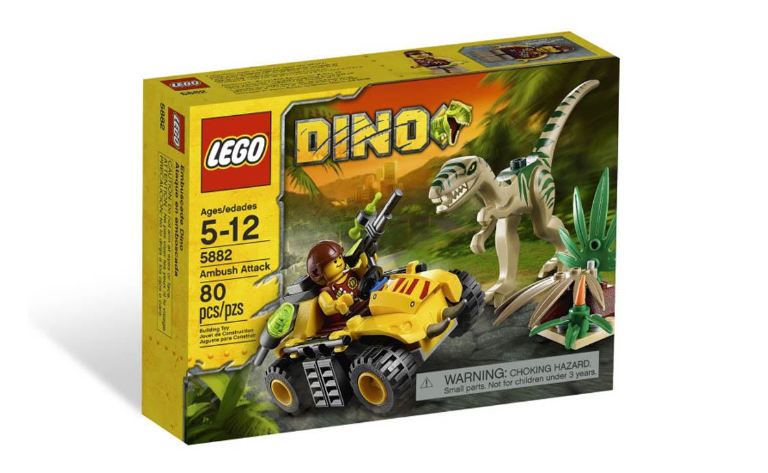Раритет LEGO Dino Засада Целофизиса (5882)