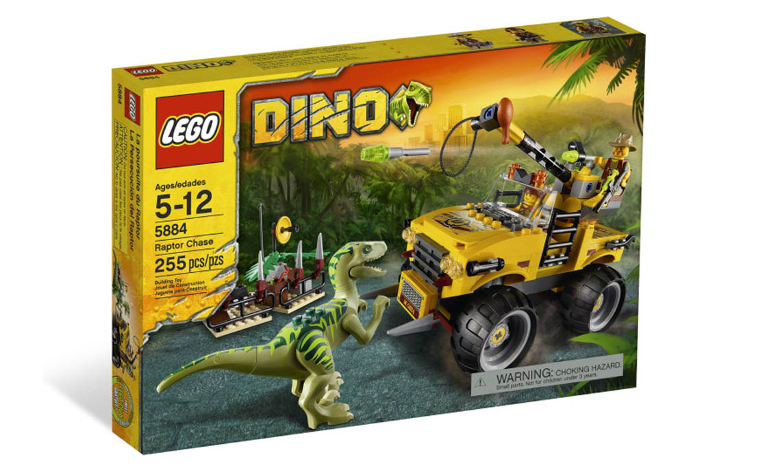 LEGO Jurassic World Охота на Раптора (5884)