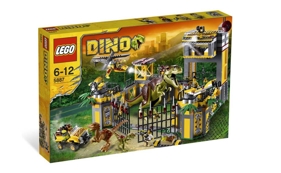 Раритет Штаб-квартира защиты от динозавров (5887)