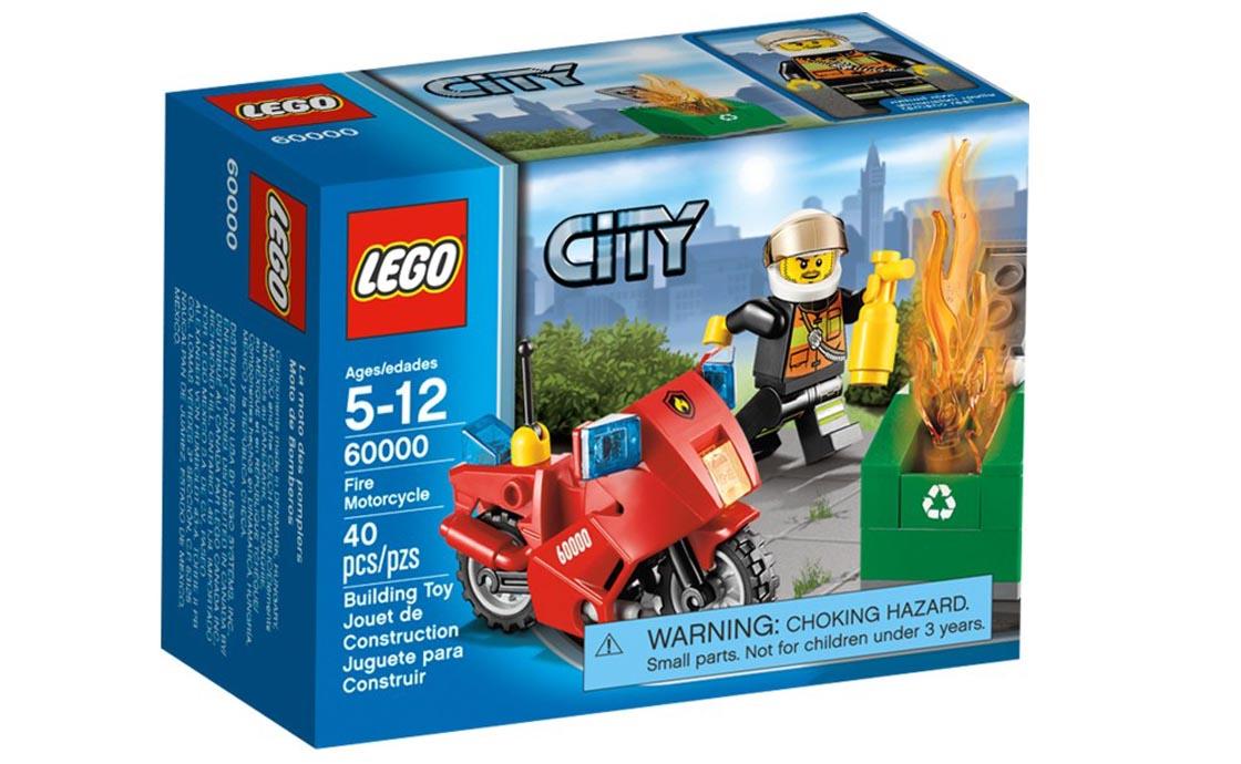 LEGO City Пожарный на мотоцикле (60000)