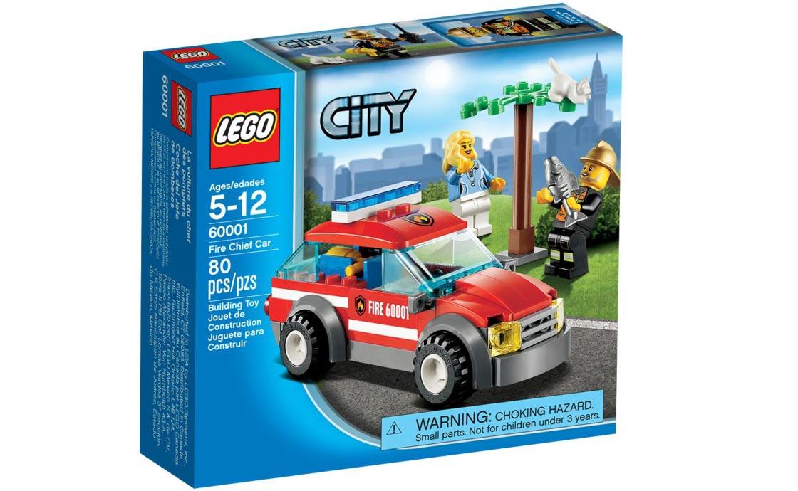 LEGO City Автомобіль пожежного (60001)
