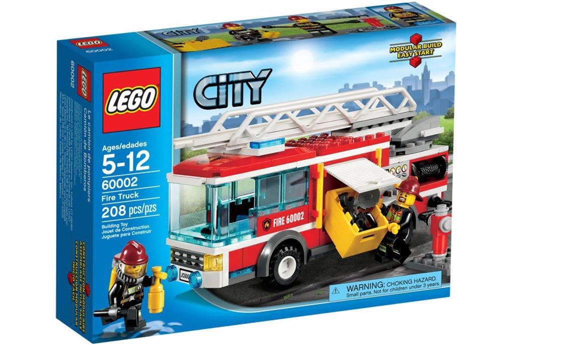 LEGO City Пожарная машина (60002)