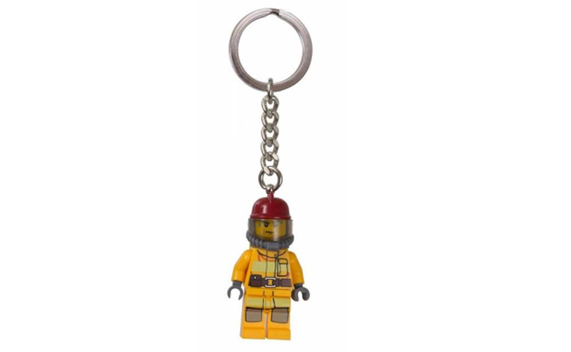 """LEGO Accessories Брелок """"Пожарный"""" (6000395)"""