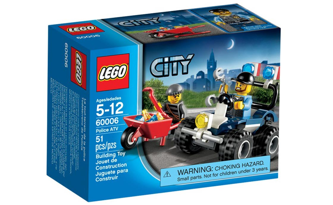 LEGO City Полицейский квадроцикл (60006)