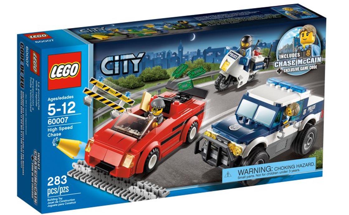 LEGO City Полицейская погоня (60007)