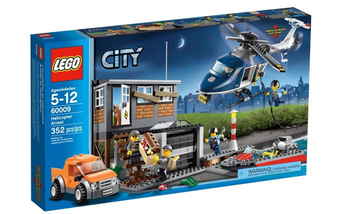 LEGO City Арест на вертолете (60009)