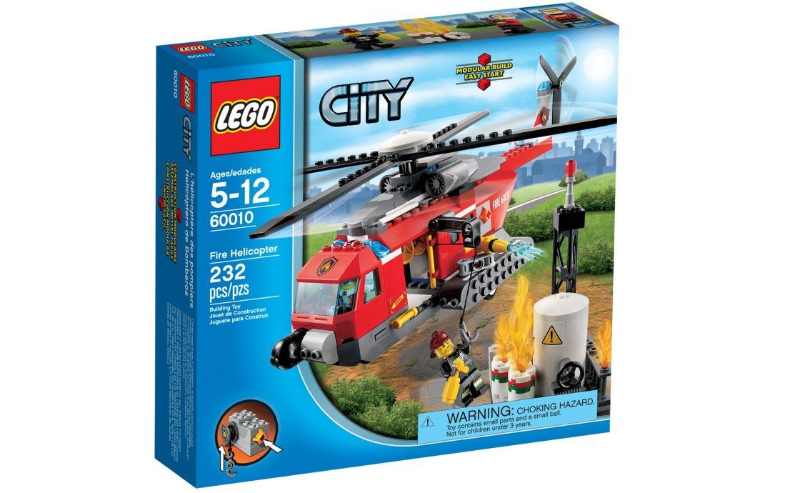 LEGO City Пожарный вертолёт (60010)