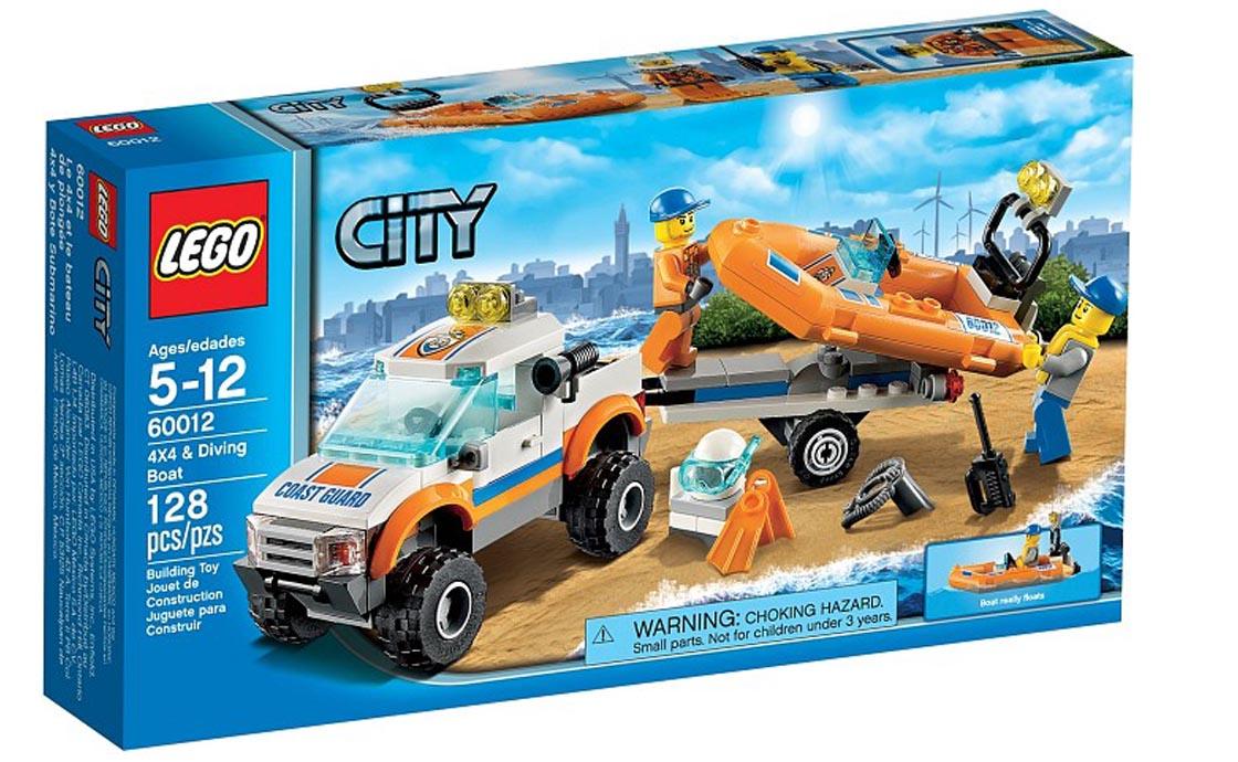 LEGO City Внедорожник для транспортировки лодок (60012)