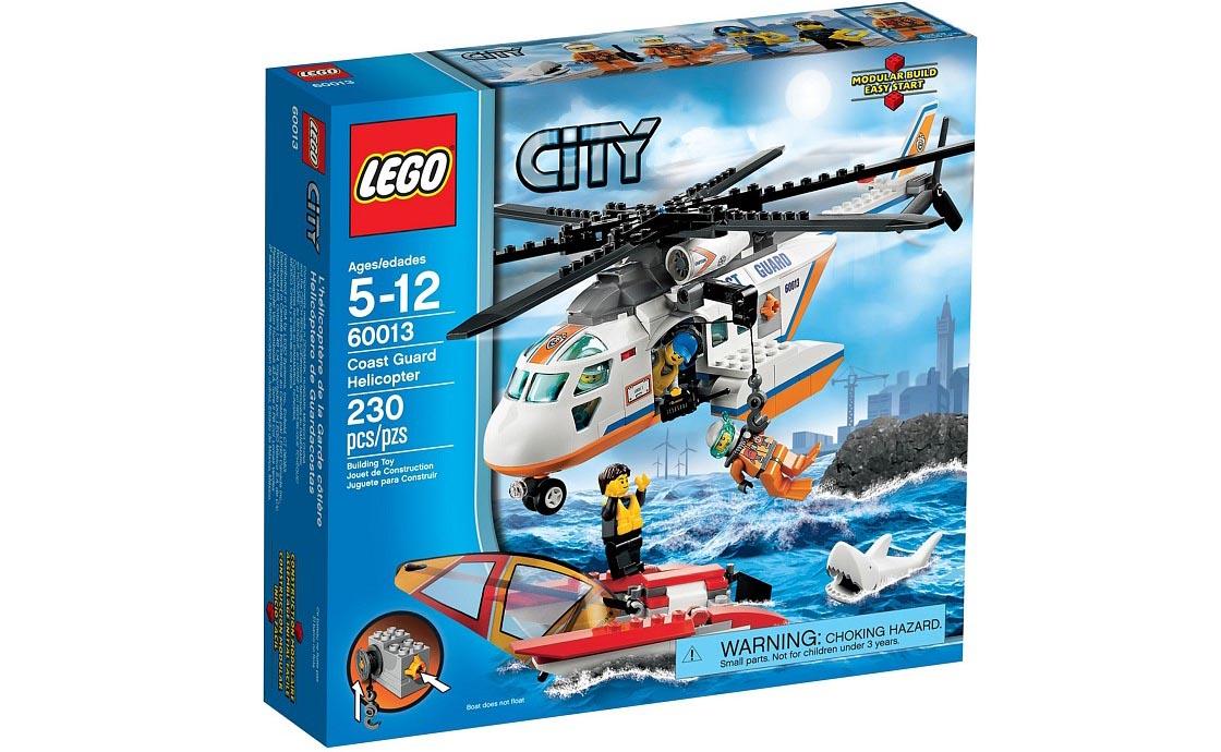 LEGO City Вертолёт береговой охраны (60013)