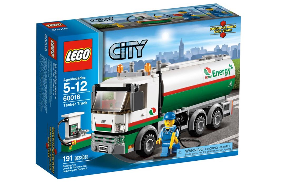 LEGO City Бензовоз (60016)