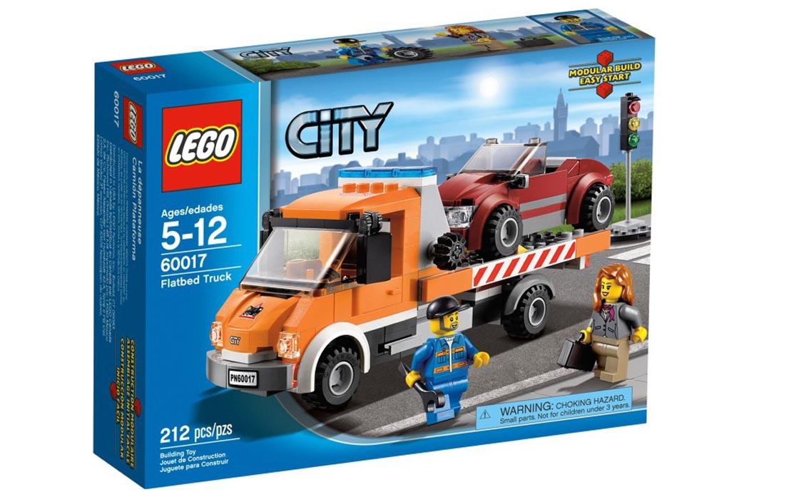 LEGO City Эвакуатор (60017)