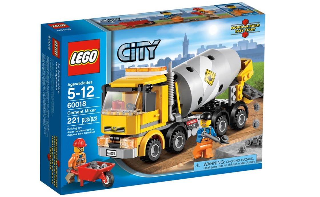 LEGO City Бетономешалка (60018)