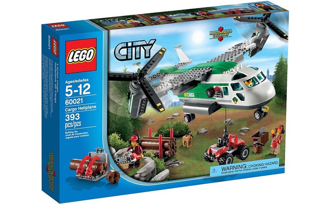 LEGO City Грузовой конвертоплан (60021)