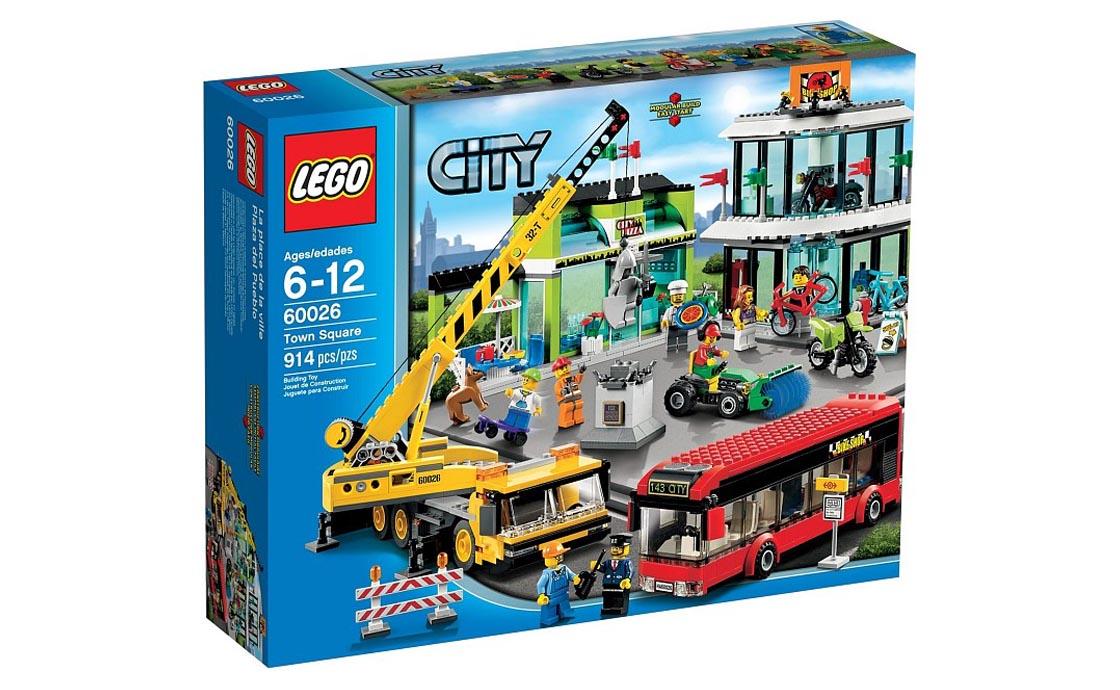 LEGO City Городская площадь (60026)