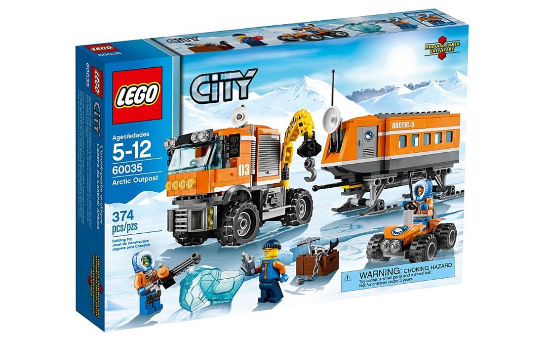 LEGO City Арктическая мобильная станция (60035)