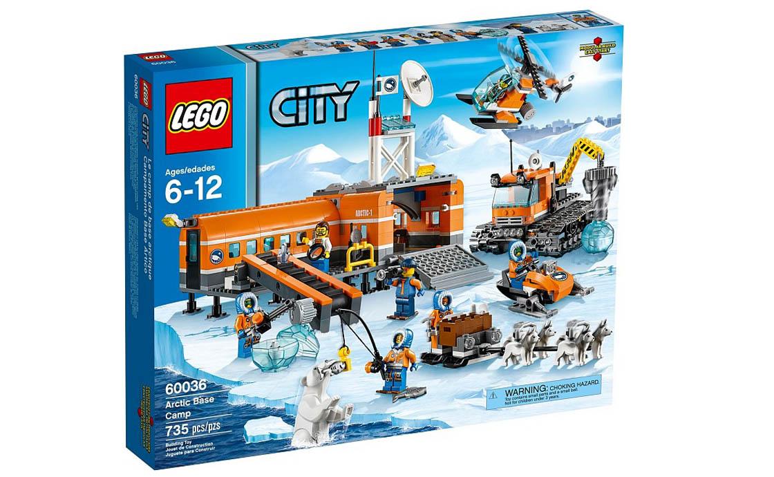 LEGO City Арктический лагерь (60036)