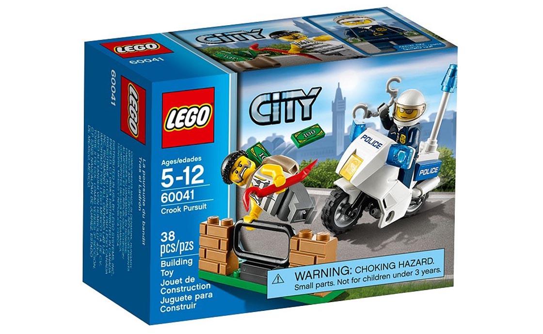 LEGO City Преследование Грабителя (60041)