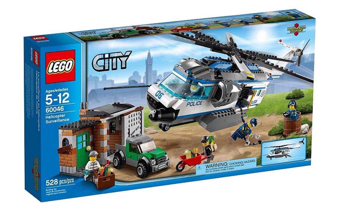 LEGO City Вертолётный патруль (60046)