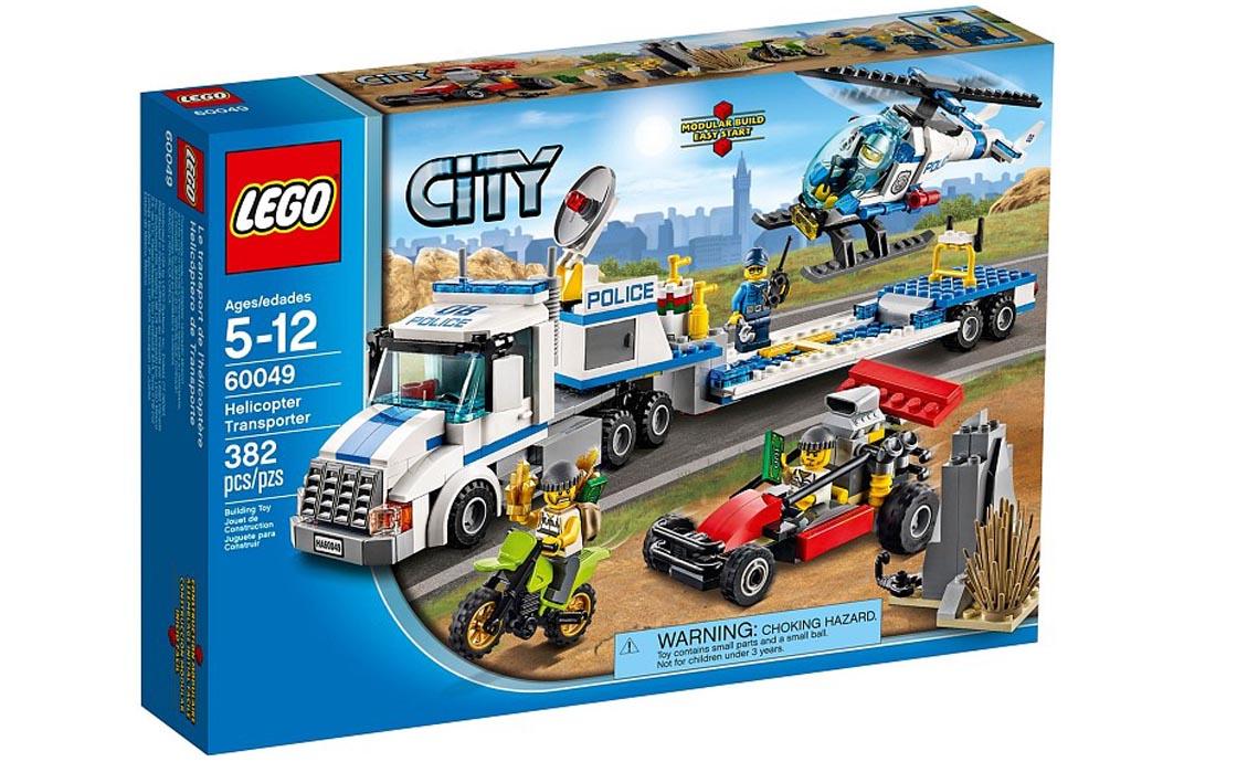 LEGO City Перевозчик вертолёта (60049)