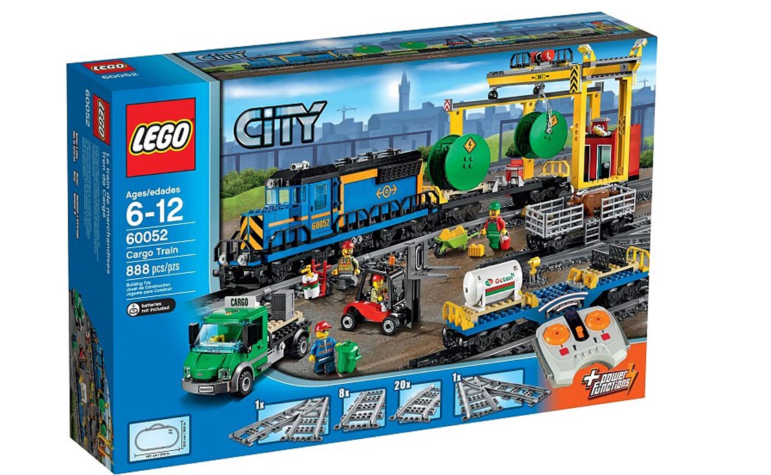 LEGO City Вантажний потяг (60052)