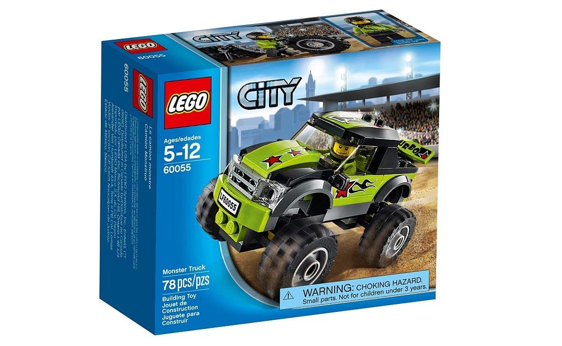 LEGO City Грузовик-монстр (60055)