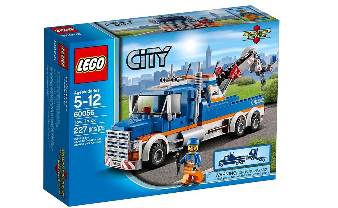 LEGO City Буксировщик (60056)