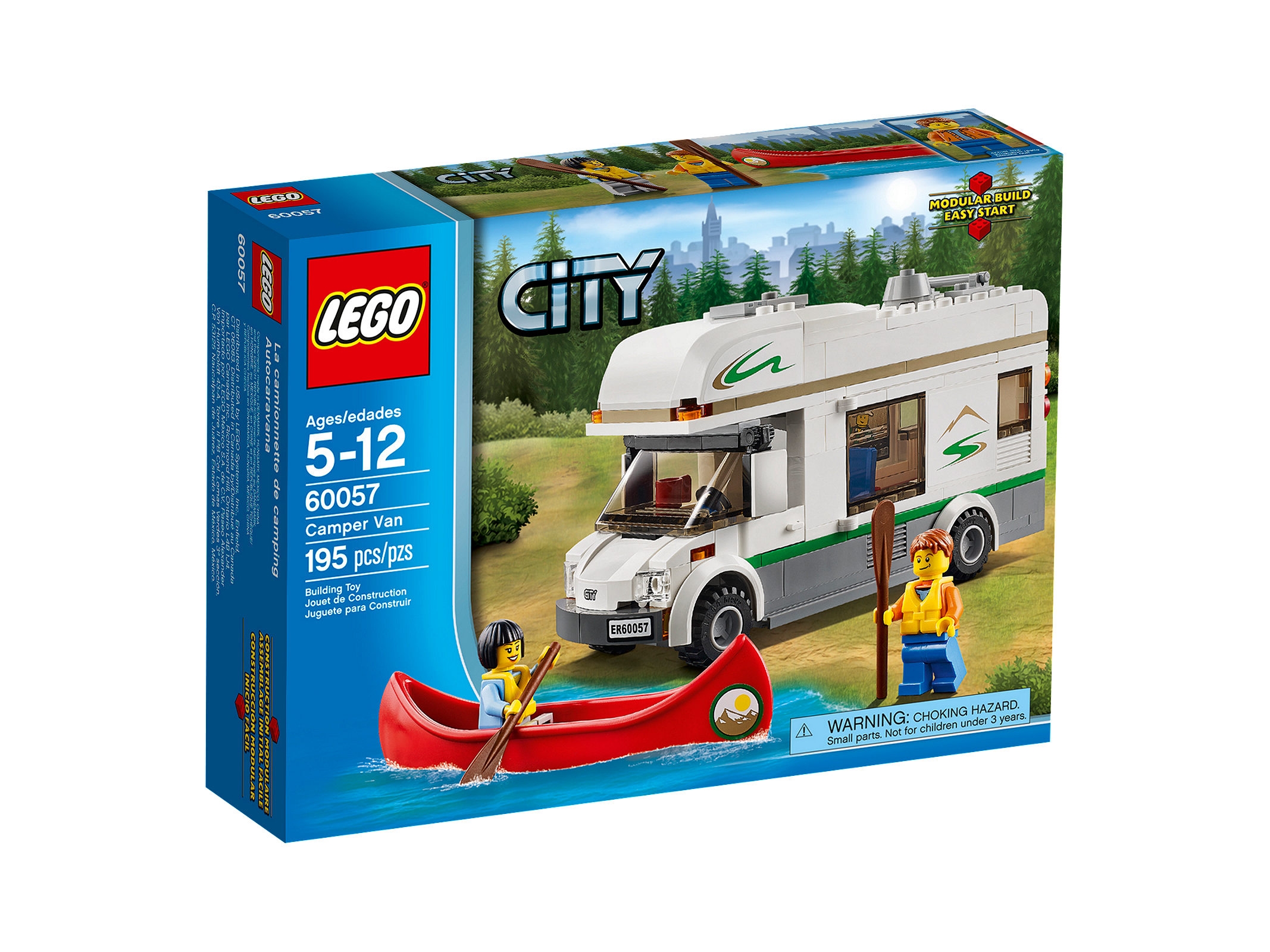 LEGO City Кемпер (60057)