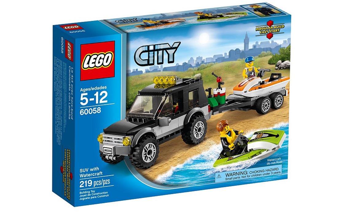 LEGO City Перевозчик водных мотоциклов (60058)