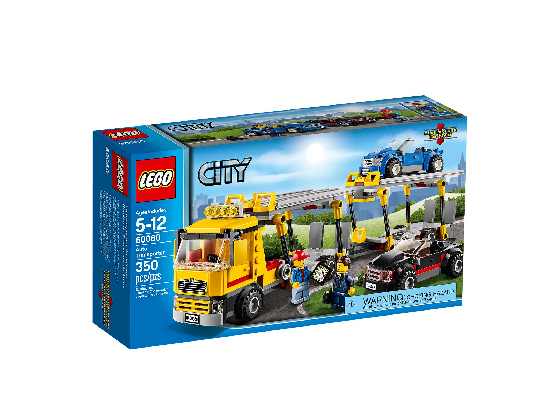 LEGO City Транспортировщик автомобилей (60060)