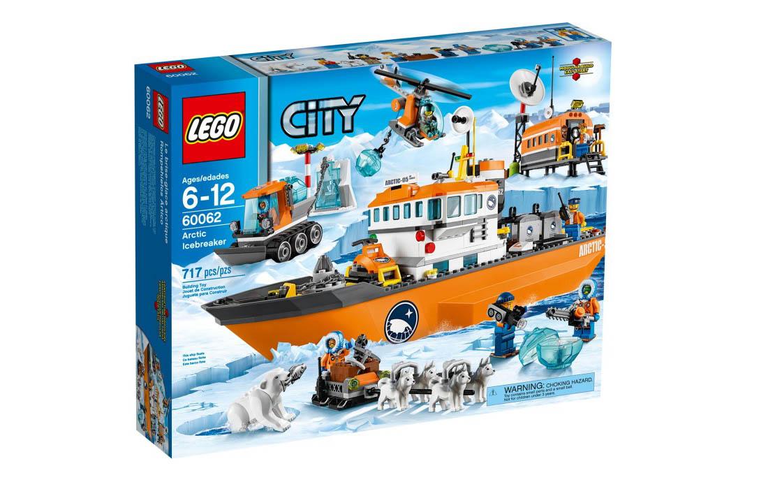 LEGO City Арктический ледокол (60062)