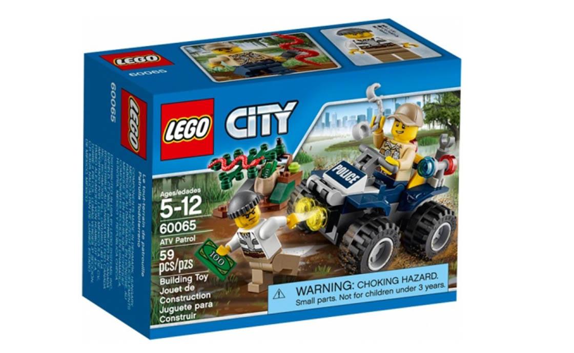 LEGO City Патруль на квадроцикле (60065)