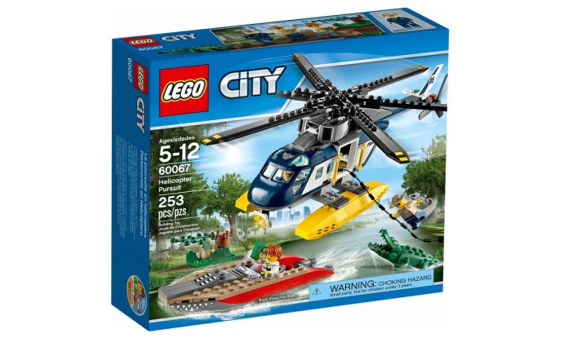 LEGO City Преследование на вертолёте (60067)