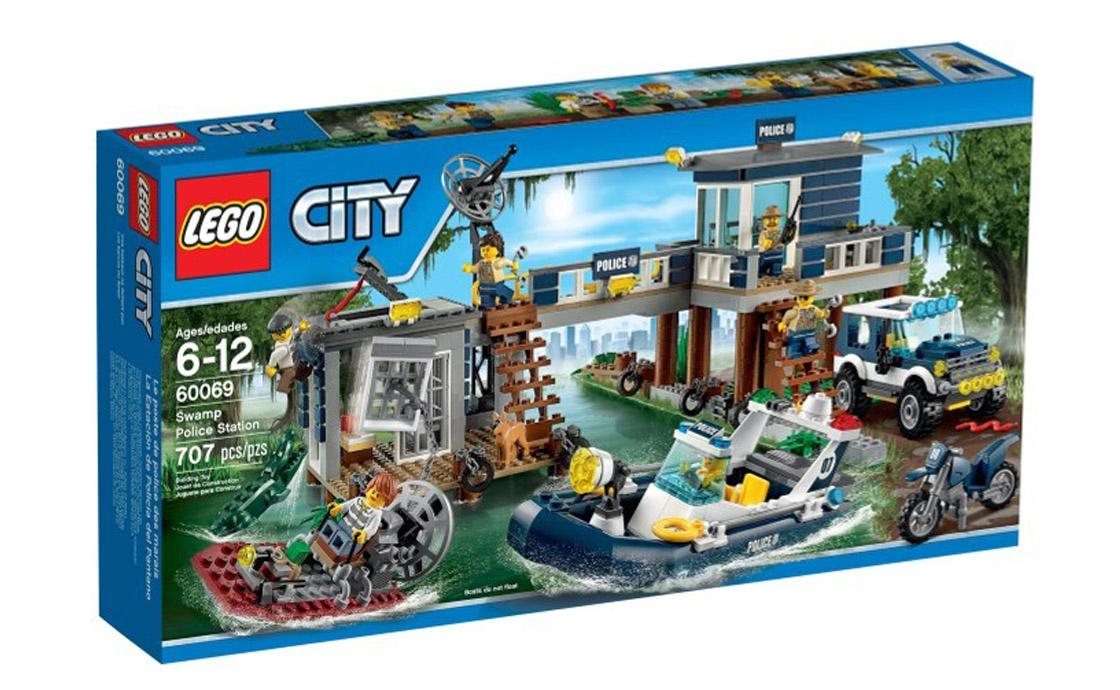 LEGO City Болотная полицейская станция (60069)