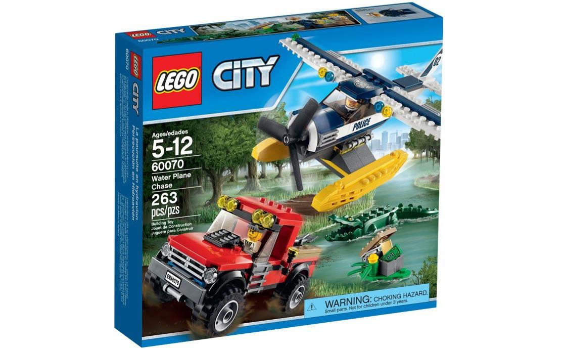 LEGO City Погоня на водном самолёте (60070)