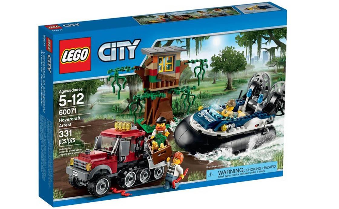LEGO City Преследование на воздушной подушке (60071)
