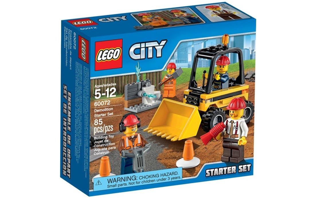 LEGO City Стартовий будівельний набір (60072)