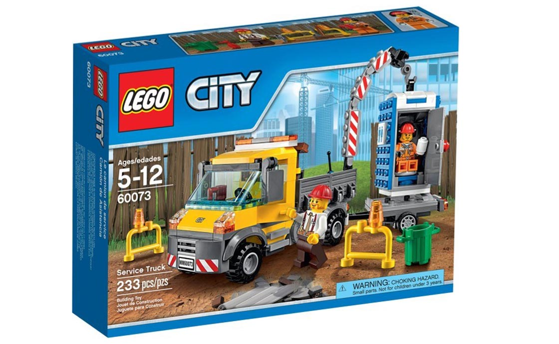 LEGO City Сервисная машина (60073)