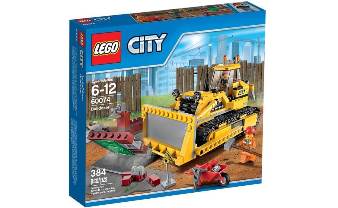 LEGO City Бульдозер (60074)