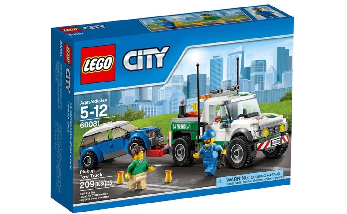 LEGO City Эвакуатор-тягач (60081)