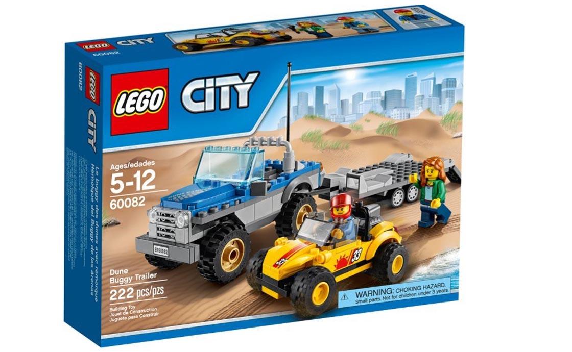 LEGO City Перевозчик пляжного багги (60082)