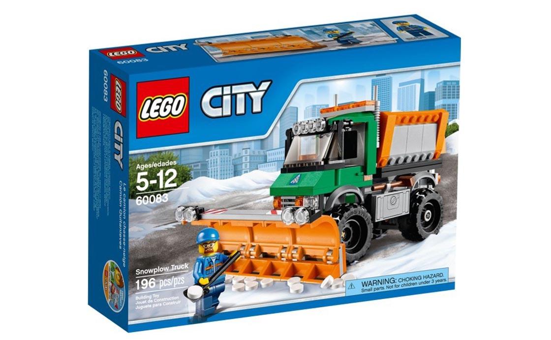 LEGO City Снегоуборочная машина (60083)