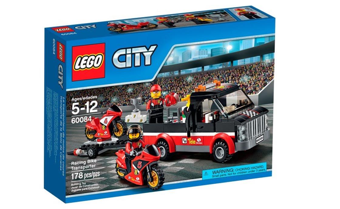 LEGO City Транспортировщик гоночных мотоциклов (60084)
