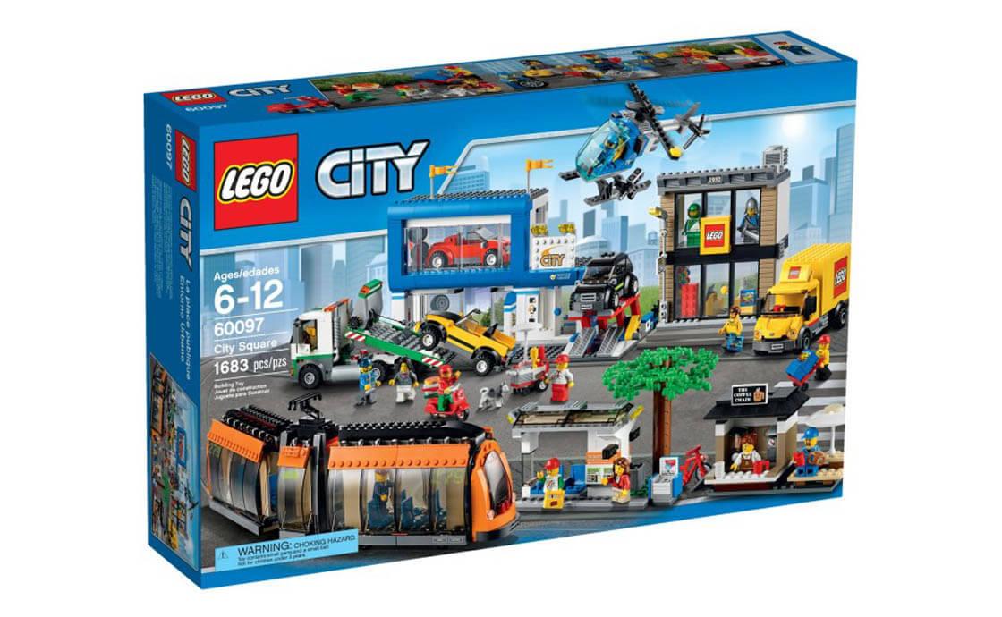 LEGO City Міська площа (60097)