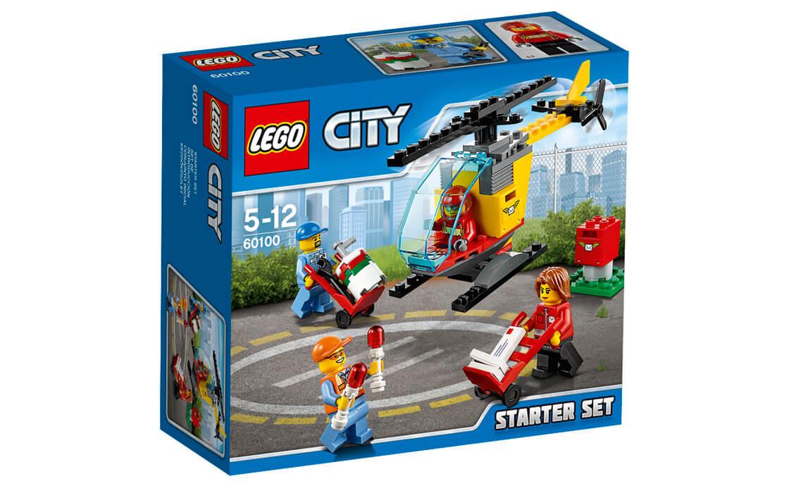 LEGO City Стартовий набір: Аеропорт (60100)