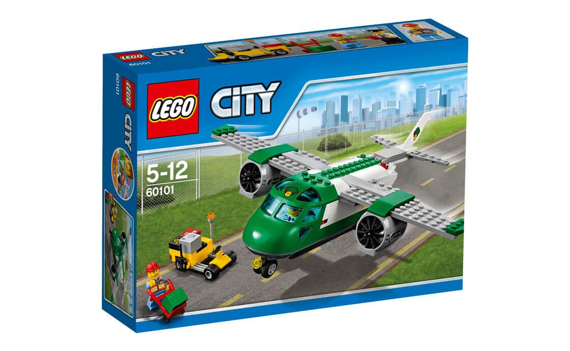 LEGO City Вантажний літак в Аеропорту (60101)