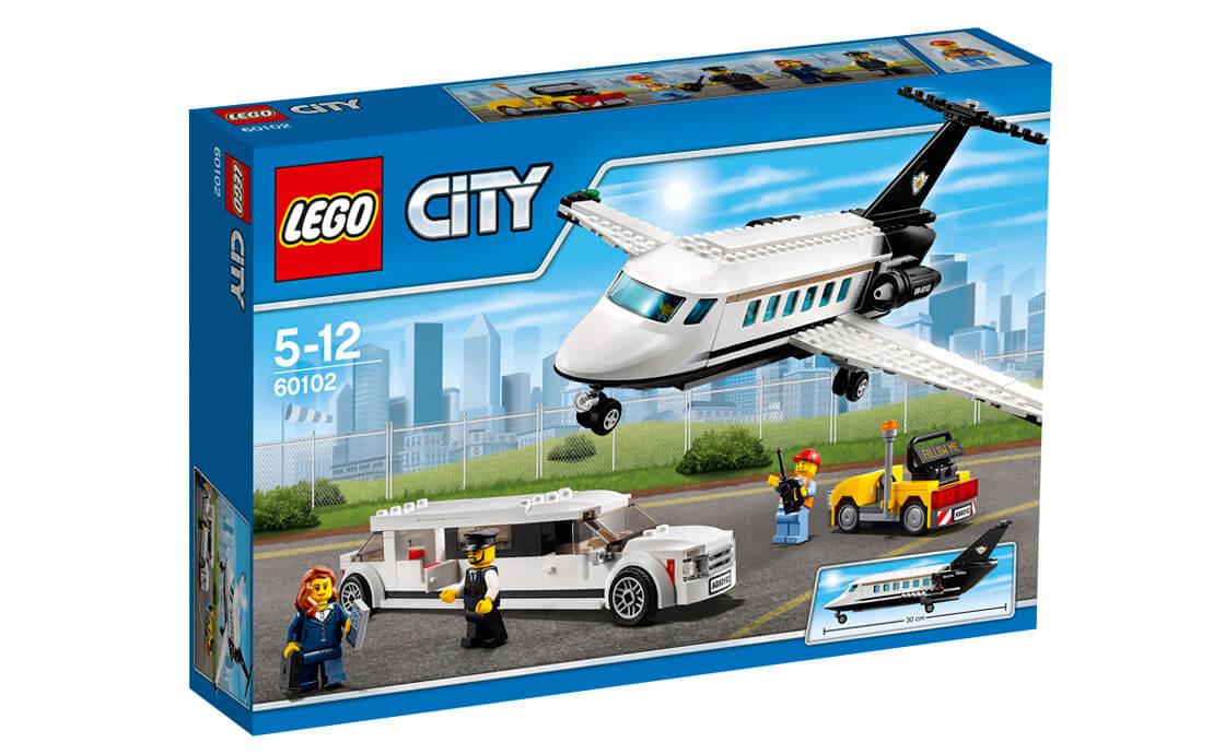 LEGO City VIP-сервіс в аеропорту (60102)